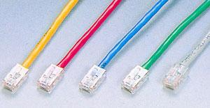 CAT5e patch cable Assembly Type Without Boots