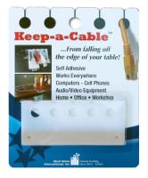 Ideal Ideas Intl (TM) Keep-a-Cable 3-Pack