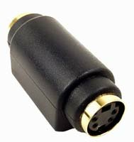 4Pin Din Female to Female S Video SVHS Coupler