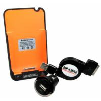 iPhone Boost & Charge Travel Kit with BatteryBoost, Mini Car Charger and Retractable Cable