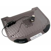 MiniFit Slate Grey Metal Netbook Cooler with Fan