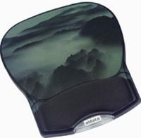 Deluxe Gel Mouse Pad - Smoke Mountain