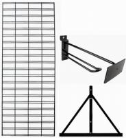 Gridwall Display Kit (1 Gridwall  1 Gridbase & 20 6in Gridhooks)