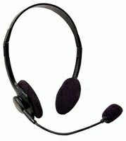 Stereo Headset with Volume and Microphone