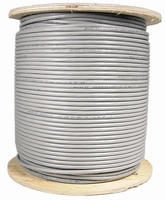 1000ft Plenum Cat5e Solid Cable