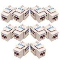 CAT6 Toolless Keystone Jack - Pack of 10 pieces