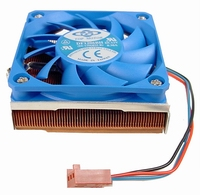 Low Profile Copper AMD 1.5Ghz amdintel PIII 1.26Ghz CPU Fan