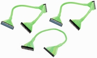 Kit  Rounded Cables  Glowing  1 x 18in 1 Device Floppy  2 x 24in 2 Device UDMA