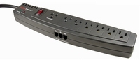 7 Outlet 1250 Joules Surge Strip
